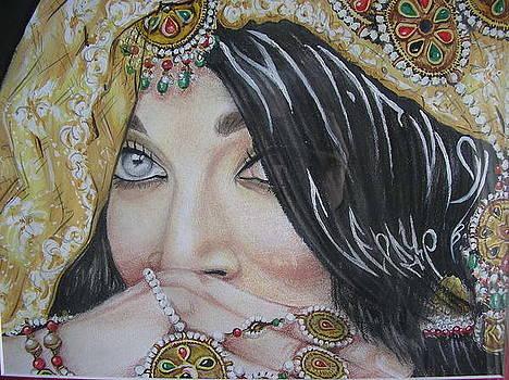 Aishwarya Rai  by Victoriya Kot