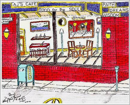 AJ Cafe  by Anthony Benjamin
