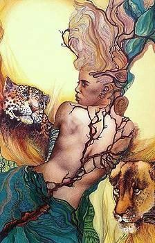 Daughter of the wilds by Bernadett Bagyinka
