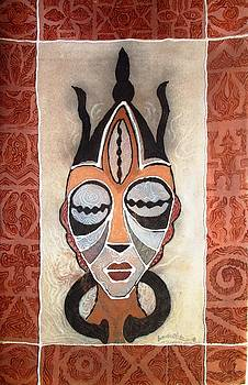 Aje Mask by Bankole Abe