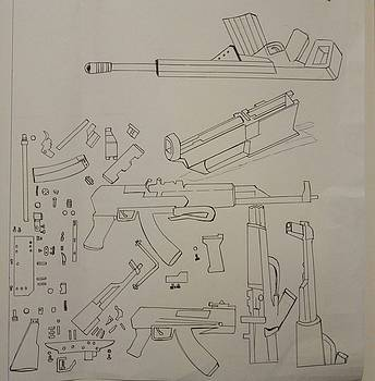AK-47 - Pulled Apart by Mudiama Kammoh