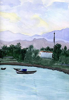 Akaba Bay by Lelia Sorokina