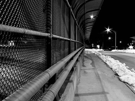 Akron Ohio Street Scene by Paul  Simpson