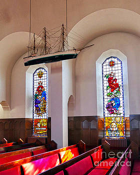 Akureyri Church Interior by Catherine Sherman