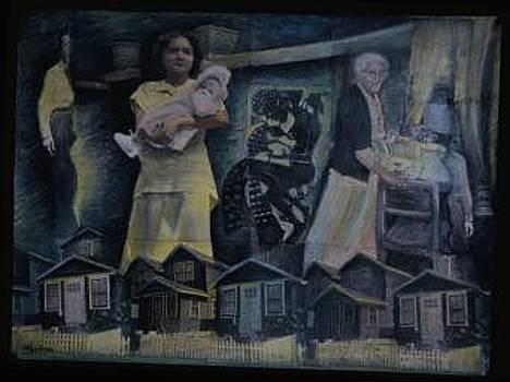 Al Cheyt No White Picket Fence by Barbara Nesin