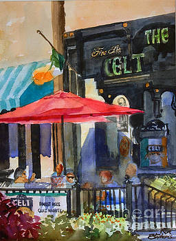 Al Fresco at the Celt by Ron Stephens