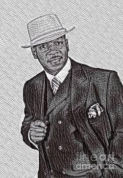 Al Jarreau Art by Pd