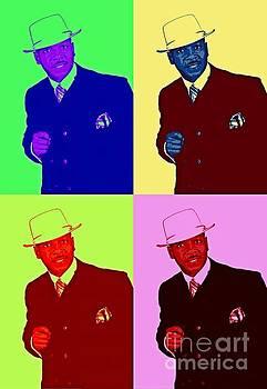 Al Jarreau Pop Art Poster by Pd