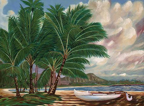 ala moana beach II by Larry Geyrozaga