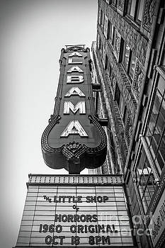 Tracy Brock - Alabama Theater in Black and White