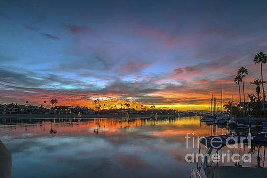 David Zanzinger - Alamitos Bay Naples Sunset Belmont Shore