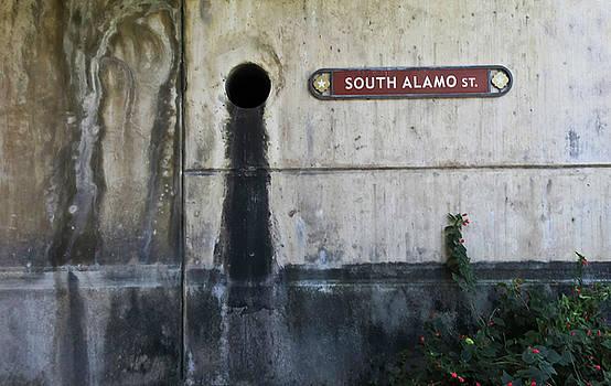 TONY GRIDER - Alamo Riverwalk Sign