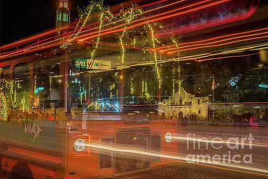 Alamo Via Streetcar by Michael Tidwell
