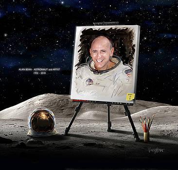 James Vaughan - Alan Bean - Astronaut and Artist