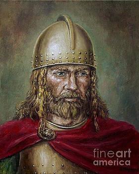 Alaric the Visigoth by Arturas Slapsys