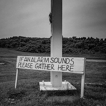 Alarm location at Star island by Ken Kartes