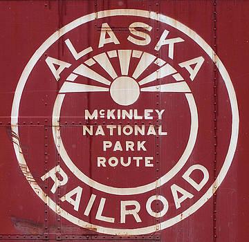 Alaska Box Car Side by Pat Turner