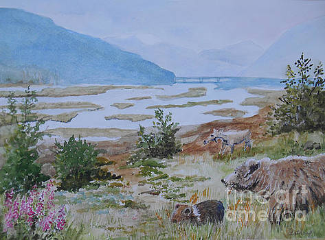 Alaska - Denali 2 by Christine Lathrop