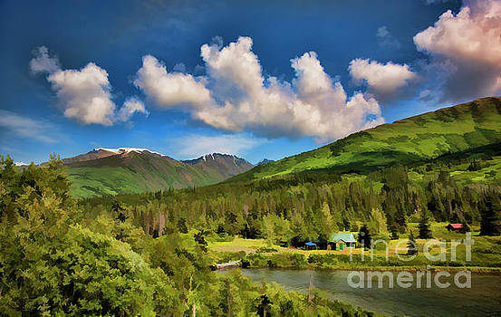 Alaska Digital Paint by Chuck Kuhn