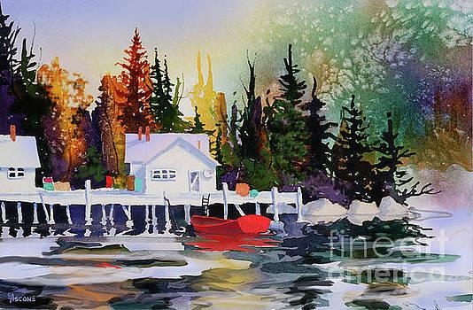 Alaska Dock by Teresa Ascone