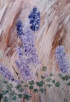 Alaska Flowers by Gaynell Parker