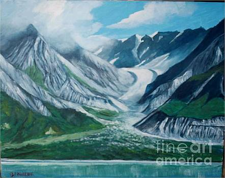Alaska Glacier Bay Park by Jean Pierre Bergoeing
