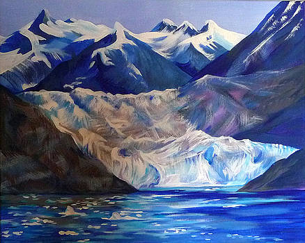 Anna  Duyunova - Alaska Glaciers