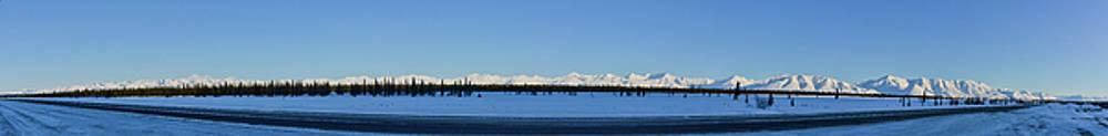 Mike Shaw - Alaska Highway Panorama