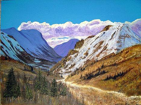 Alaska Highway Series No. 2 by Teresa Boston
