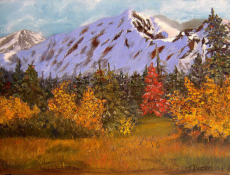 Alaska Highway Series No. 21 by Teresa Boston