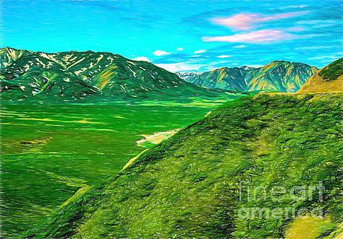 Alaska Mountains 20aPACP2 by Doug Berry