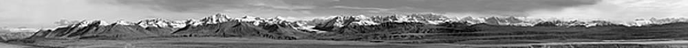 Alaska Range BW by Peter J Sucy
