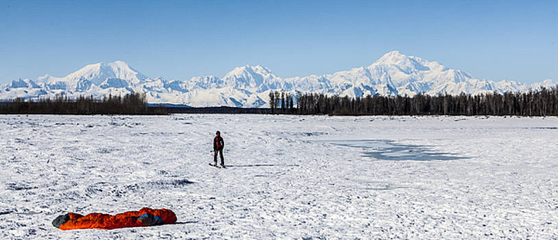 Alaska Range by Kyle Lavey