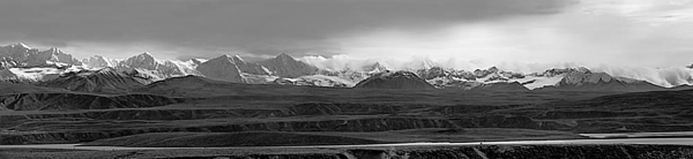 Alaska Range Right Panel by Peter J Sucy