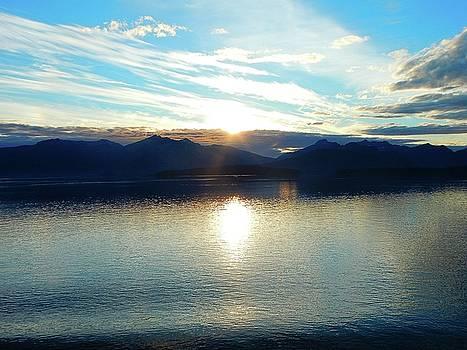 Alaska Sunset by Gerald Greenwood