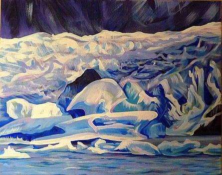 Anna  Duyunova - Alaska.Crashing Ice