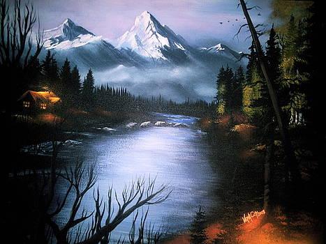 Alaskan Autumn by Verna Coy