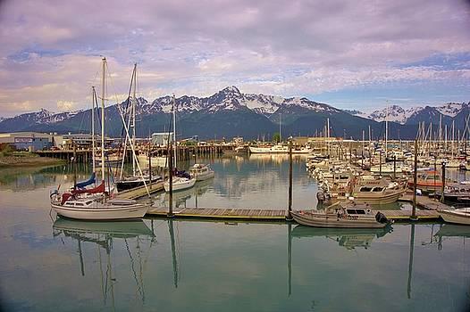 Alaskan Harbor by Red Cross