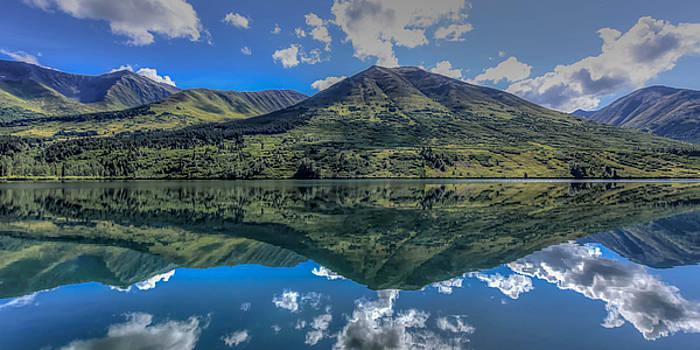 Alaskan Reflections by Don Mennig