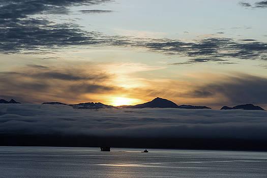 Alaskan Sun Rise by Allen Carroll