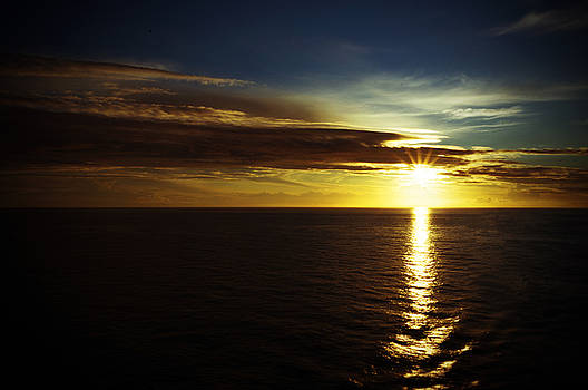 Alaskan Sunset by Jaren Johnson