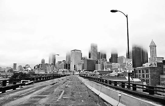 Pelo Blanco Photo - Alaskan Way Viaduct Downtown Seattle