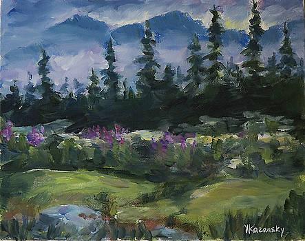 Alaskan Woods by Yulia Kazansky