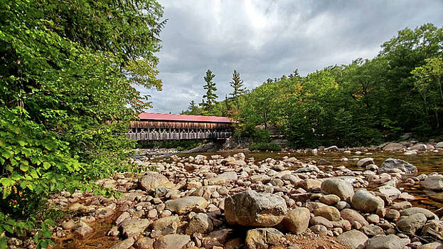 Albany Covered Bridge by Bill Morgenstern