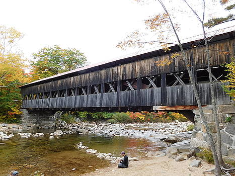 Albany Covered Bridge by Catherine Gagne