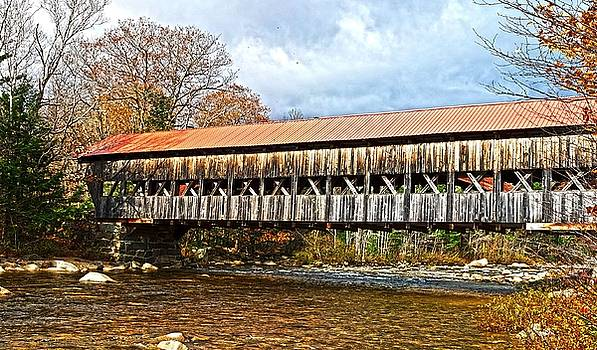 Robert Hayes - Albany Covered Bridge Panorama
