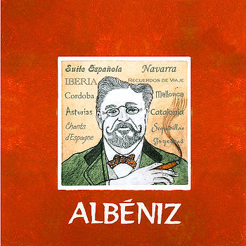 Albeniz Portrait by Paul Helm