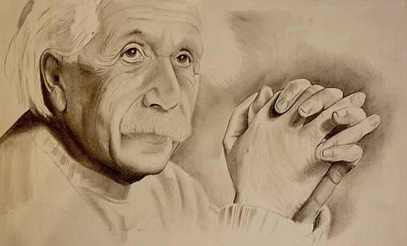 Albert Einstein by A Hwais