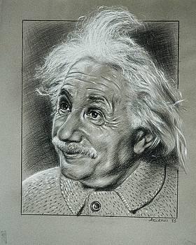 Albert Einstein by Anastasis  Anastasi