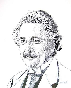Albert Einstein by Diane Marcotte